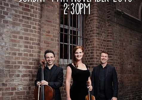 Streeton Trio Concert in Wentworth Falls